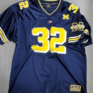 Vinatge Michigan football Jersey